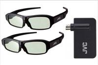 JVC 3D pakke med briller og sender
