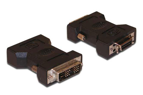 DVI - DFP/MDR/HPC20 monitor adaptor cable (DVI-D male - DFP female), black