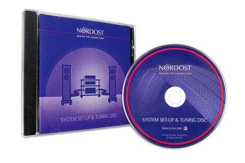 Nordost system set-up and tuning CD