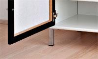 Frislev møbel ben i diskret og enkelt design.