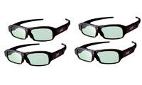 JVC AG3 3D glasses, 4 stk.