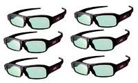 JVC AG3 3D glasses, 6 stk.