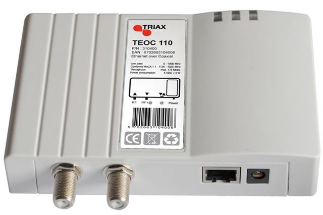 Triax TEOC 110 MoCA®