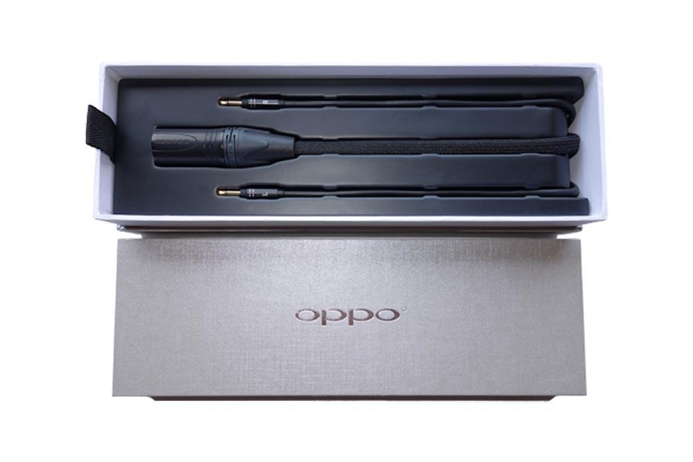 Balanceret hovedtelefons kabel til at forbinde Oppo PM-1/PM-2 til en balanceret hovedtelefons forstærker.