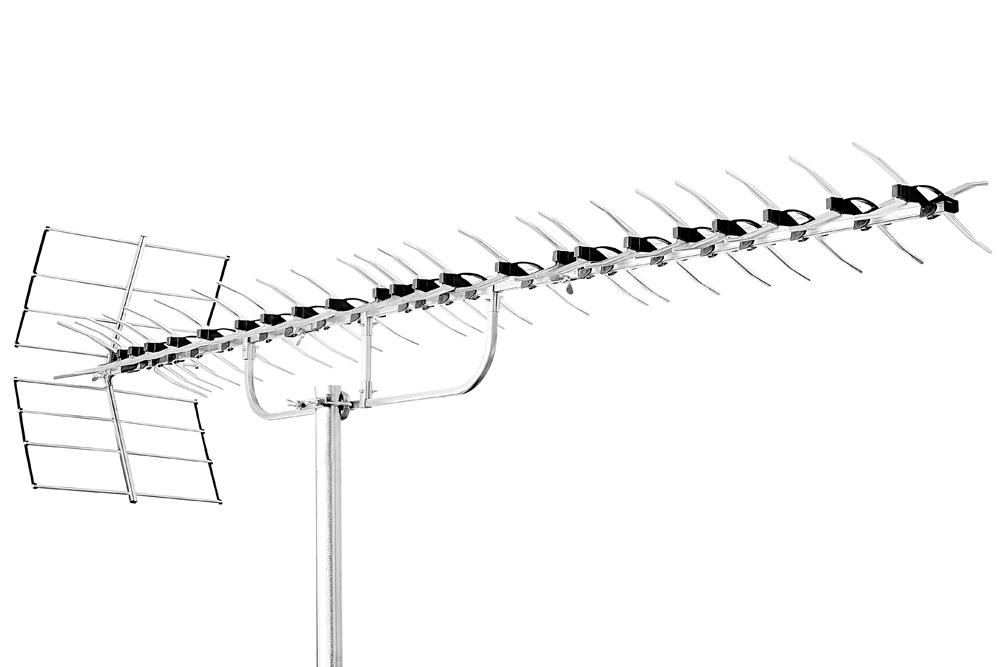 triax unix 100 lte uhf dvb t antenne 100 elementer passiv. Black Bedroom Furniture Sets. Home Design Ideas