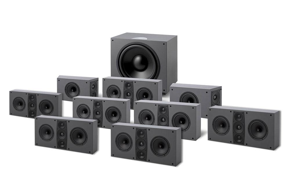 Vi har sammensat en Dolby Atmos pakke med Jamo D600 THX Ultra 2 godkendte serie. Få en ægte 5.1.4 Dolby Atmos hjemmebiograf af meget høj kvalitet.