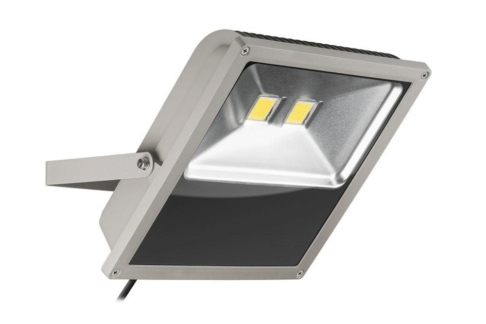 LED Projektør på 100W kold hvid 6000K med 8500 lumens - Svarer til en almindelig halogen-projektør på ca. 500 watt