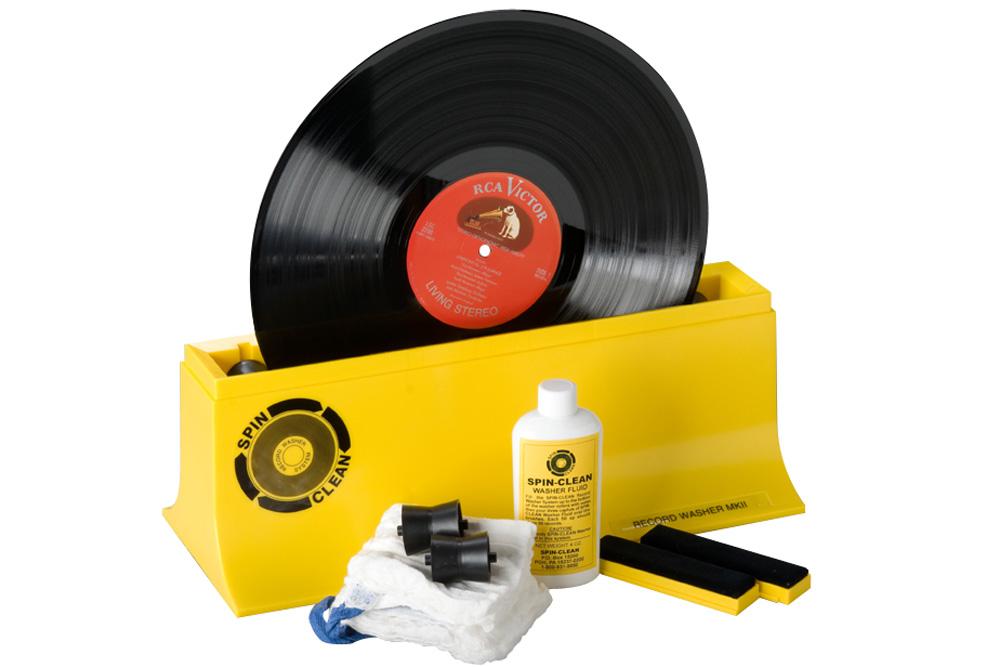 Rengør LP, singler samt 78ere uden at ridse; let, effektivt & billigt - SpinClean Record Washer MKII forlænger levetiden på plader med hørbar forskel