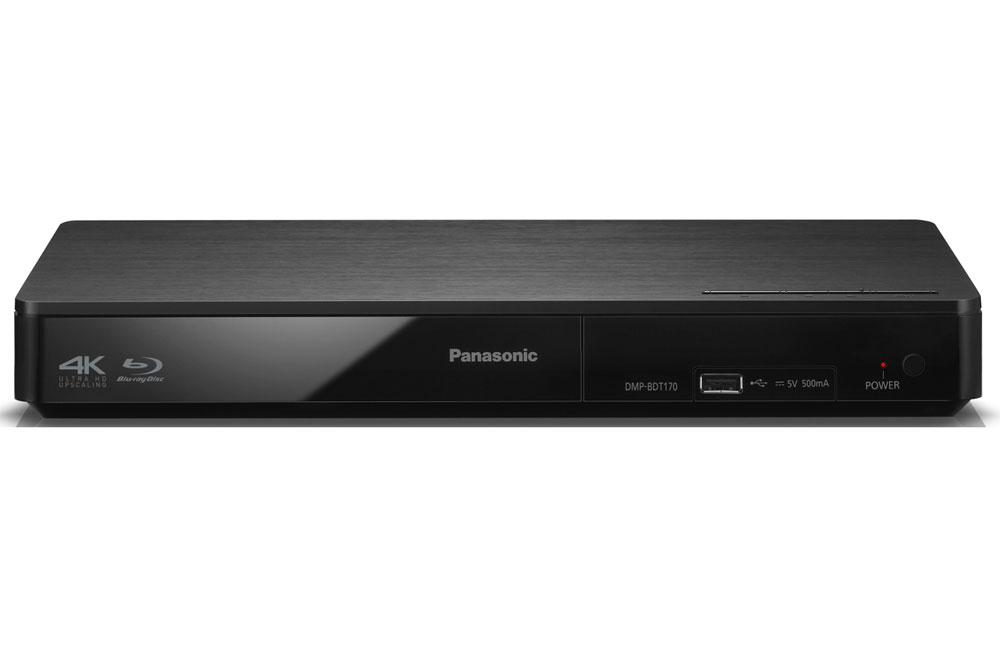 Panasonic DMP-BDT180 byder på overlegen billedkvalitet og et væld af smarte funktioner, samt 4K opskallering.