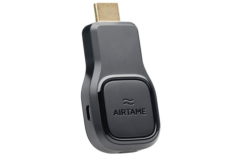 AIRTAME lader dig streame trådløst til dit TV eller Projektor med HDMI. Brug AIRTAME uanset om du vil streame fra PC, MAC eller smartphone.