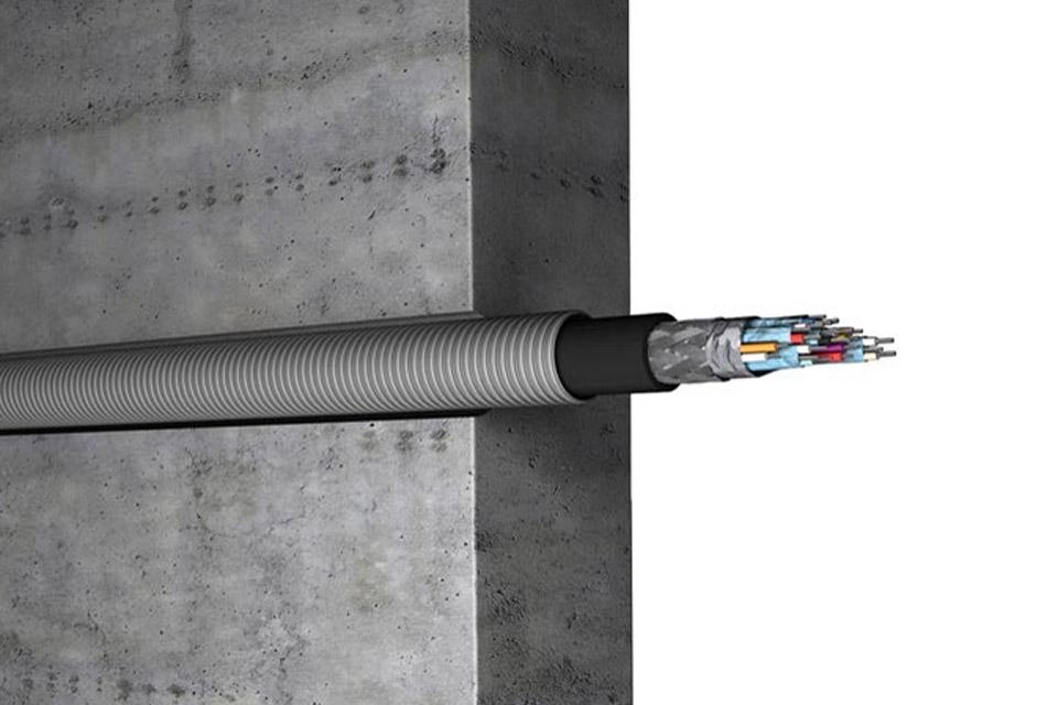 HDMI 2.0a kabel i løs meter til installation. Kan kun anvendes med inakustik Profi HDMI Kit.
