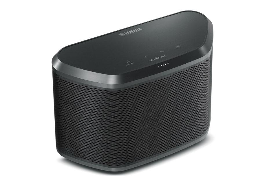 Kompakt multirumshøjttaler i MusicCast serien. Kan anvendes som selvstændig Bluetooth højttaler eller som en del af Yamahas MusicCast system.