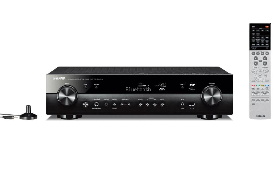 Yamaha RX-S601D er en Slank 5.1-kanals netværksreceiver med høj lydkvalitet, DAB+ radio og alle de smarte netværks funktioner.