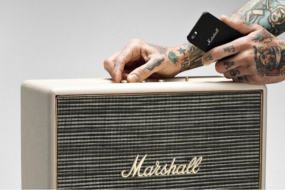 Den største Marshall bluetooth højttaler med endnu kraftigere lyd, i samme velkendte design. Woburn tager rock´n´roll til næste niveau.