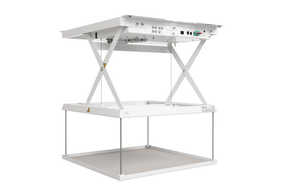 PPL 1035 liftsystem er den perfekte løsning til at integrere projektorer i loftet i mødelokaler, hjemmebiografer, auditorier og konferencesale.