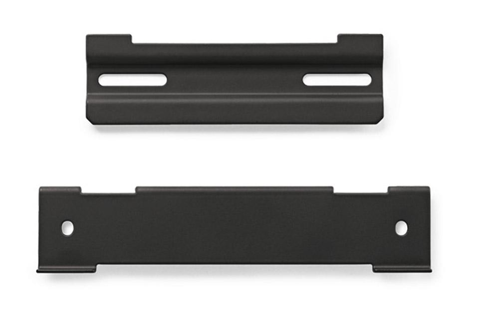 Monter din Bose SoundTouch® 120 soundbar-højttaler eller dit Bose Solo 5 lydsystem til TV med dette beslag, der er nemt at installere.