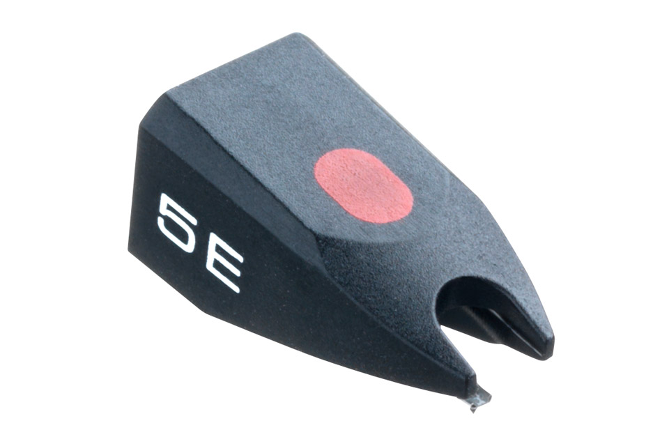 Replacement stylus for Ortofon OM 5E, OMP 5E, OMB 5E, OMT 5E