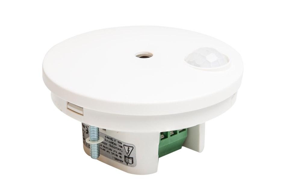 Lampeudtag med indbygget forbrugsmåler, bevægelses sensor og tidsstyret programmering.