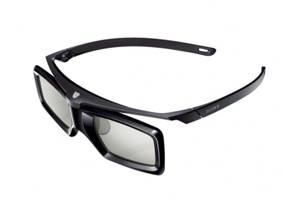 Aktive RF 3D briller fra Sony. Passer bl.a. til VPL-HW65ES, VW320ES, VW520ES, VW300ES og VW500ES.