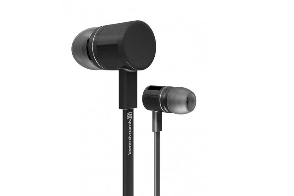 Premium in-ear hovedtelefoner fra Beyerdynamic, med kraftfuld lyd og et stilfuldt design, passer til alle mobil enheder.