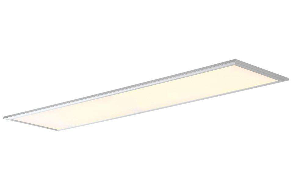 120x30 LED lyspanel til loft. Vælg mellem 3000K varmhvid, eller 4000K hvid, der er velegnet til kontorbrug eller hvor naturligt lysindfald ønskes.