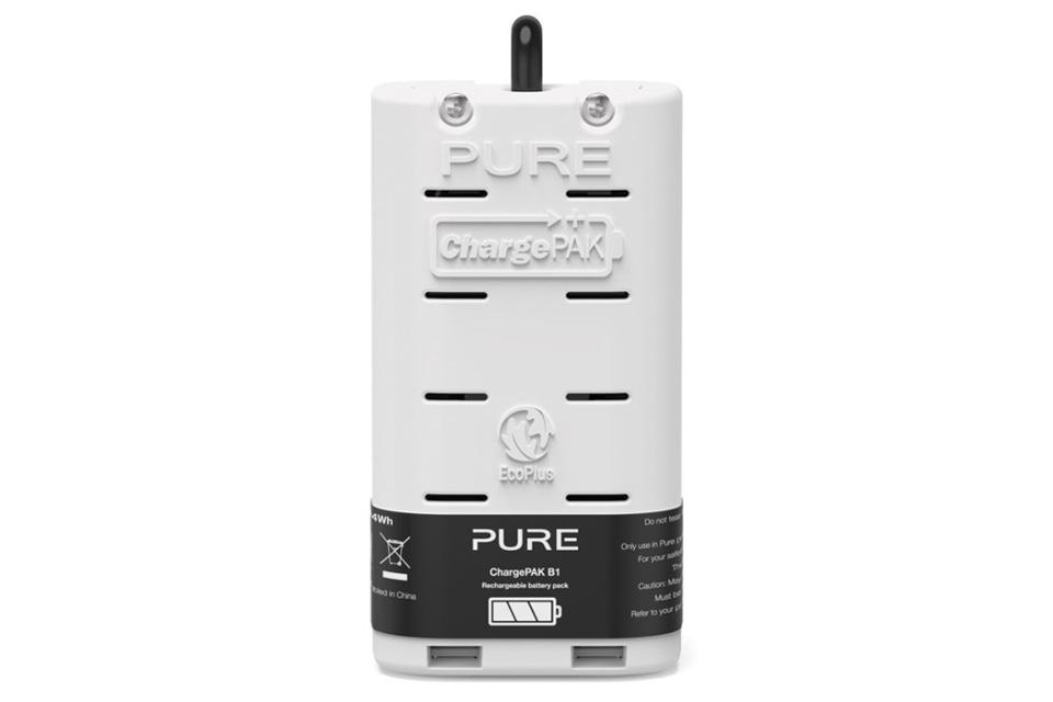 Gør din Pure transportabel med Pure ChargePAK B1 batteri til Pure Evoke D1, D2, H2, H3 og One Mini Series 2+3