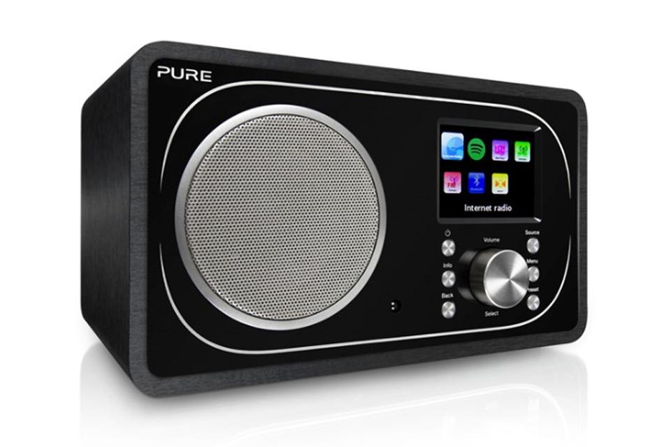 Kompakt Pure Evoke F3 Internet-, DAB digital- og FM-radio med Bluetooth og Spotify Connect samt mulighed for app-styring
