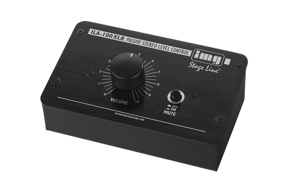 Passiv balanceret stereo volume kontrol til balanceret XLR eller 6,3 mm. Jack ind og udgang.