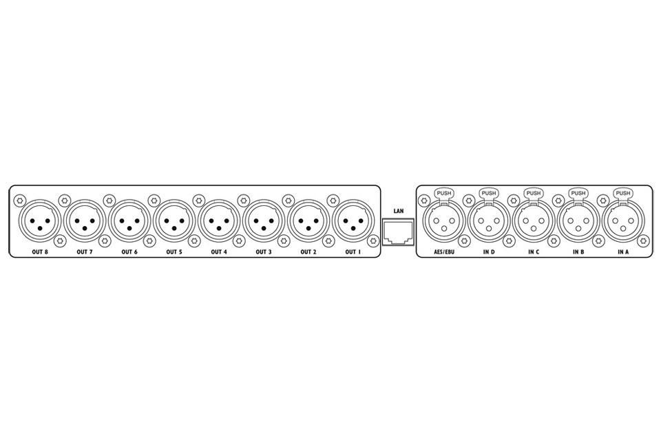 Stage Line DMS-48LAN REAR