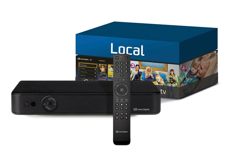 Canal Digital Local pakken giver dig de mest populære danske kanaler.
