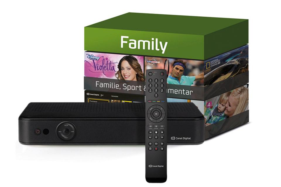 Family tv-pakken er proppet med underholdning til hele familien.