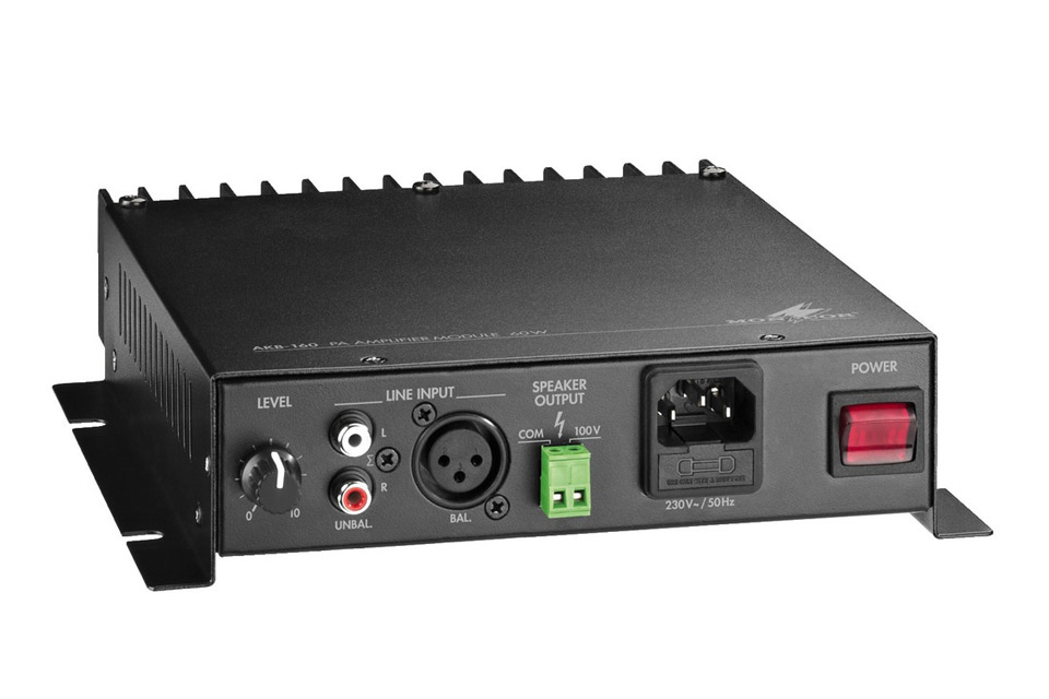 Active speaker module with 100V output