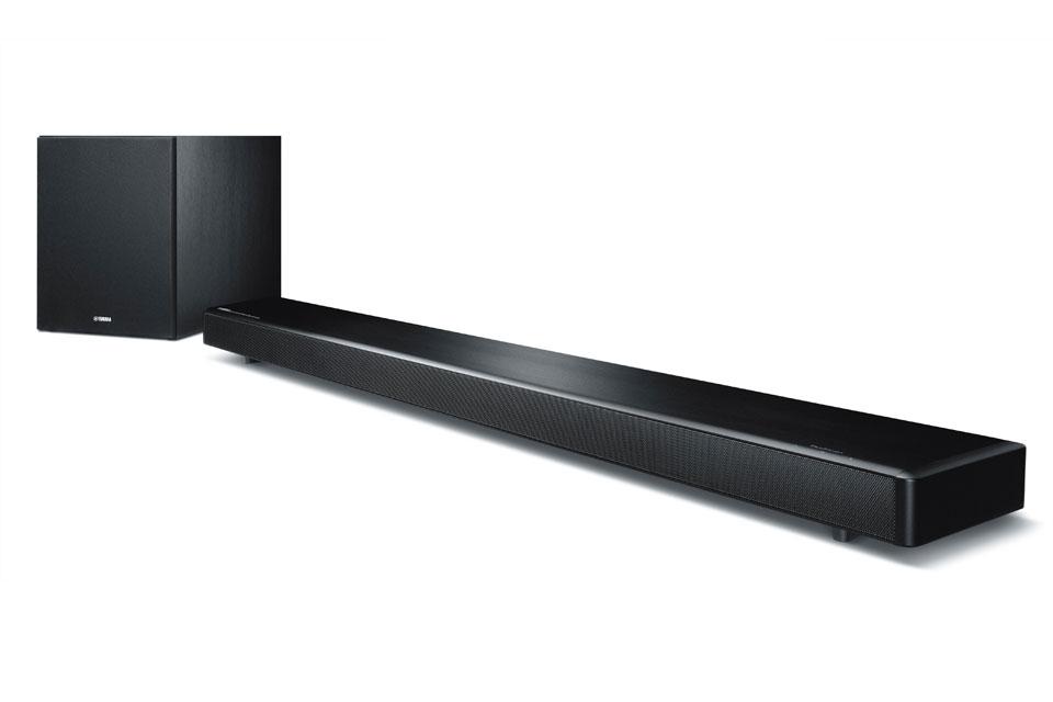 Avanceret digital soundbar inkl. trådløs subwoofer  der gengiver ægte 7.1 surround sound. YSP-2700 kan fungere som en multirumshøjttaler med MusicCast