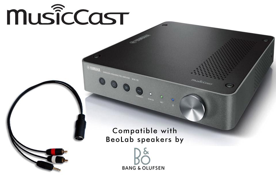 MusicCast streaming løsning til eksisterende aktive B&O højttalere, f.eks. BeoLab 6000 eller BeoLab 8000.