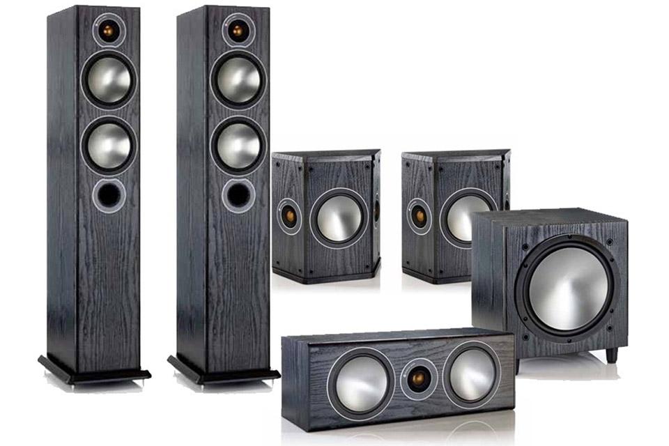 Monitor Audio Bronze 5 White Ash