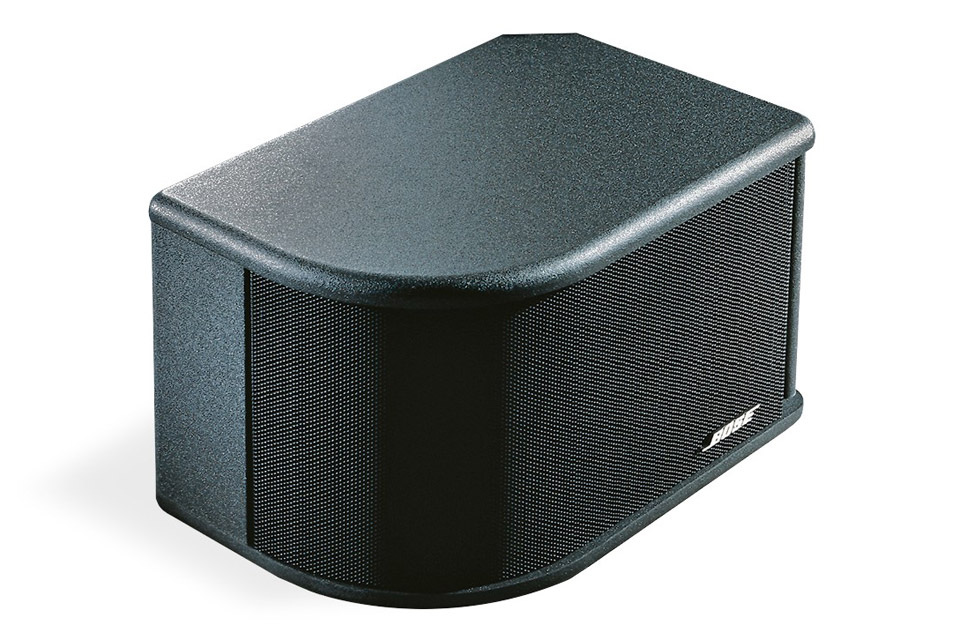 Kraftig full-range væghøjttaler fra BOSE Proffessional med stor spredning og ydelse. Spiller helt ned til 45 Hz og er beregnet til indendørs brug.