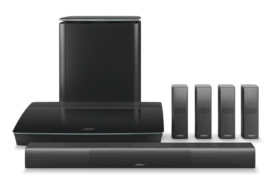 Lifestyle® 650 underholdningssystem. Det bedste 5.1-system fra Bose, der lyder lige så fantastisk, som det ser ud.