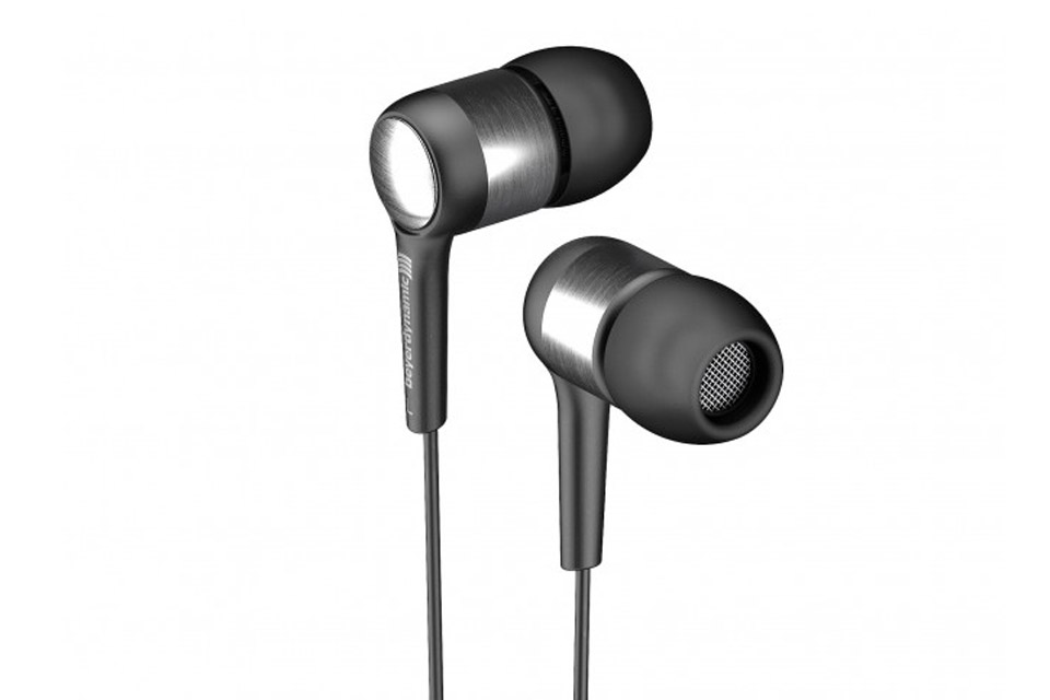 Byron er premium in-ear hovedtelefoner, lavet i massiv aluminium med fjernbetjening og mikrofon på kablet, til styring af Android telefoner.