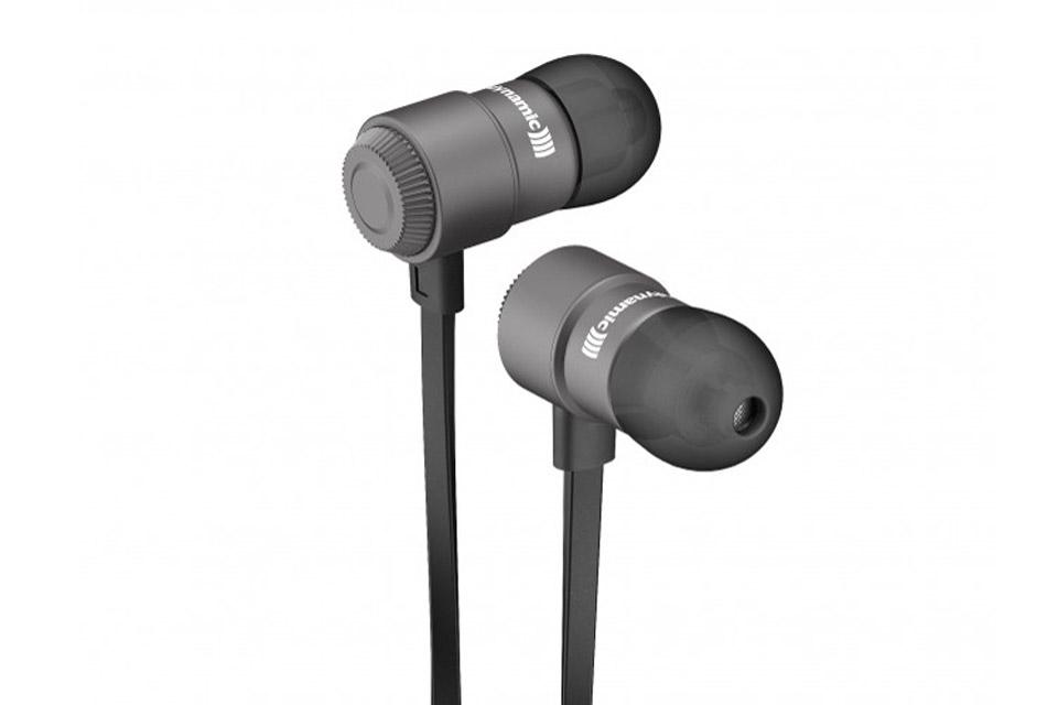 Byron BT er trådløse premium in-ear hovedtelefoner, lavet i massiv aluminium med fjernbetjening samt mikrofon til Apple og Android mobilenheder.
