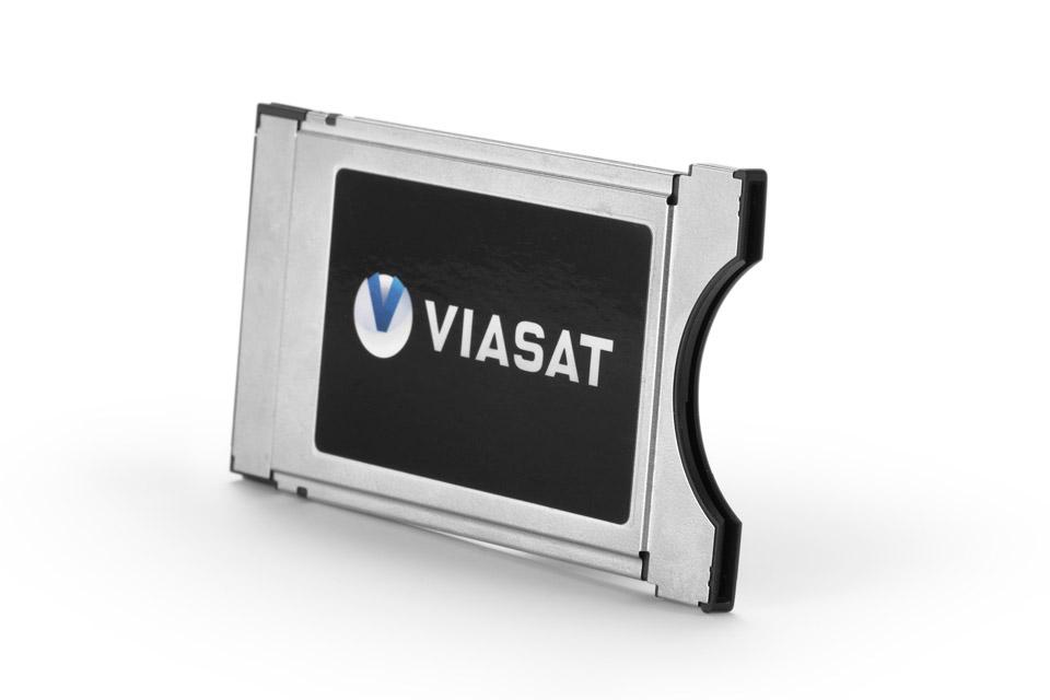 Få et Viasat CA modul til dit TV med indbygget DVB-S tuner, så du undgår at have en TV-boks stående. Se i listen om dit TV understøtter modulet.