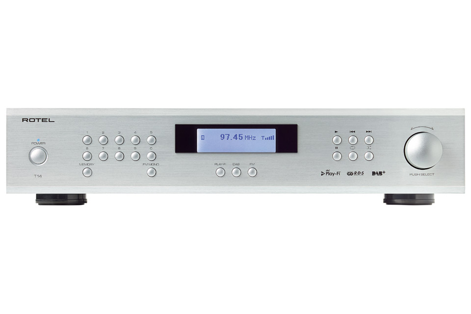 Dette er ikke bare en normal højkvalitets FM/DAB+ tuner! T14 er udrustet med en 32/384kHz DAC og DTS Play-Fi der giver et hav af streamingsmuligheder.