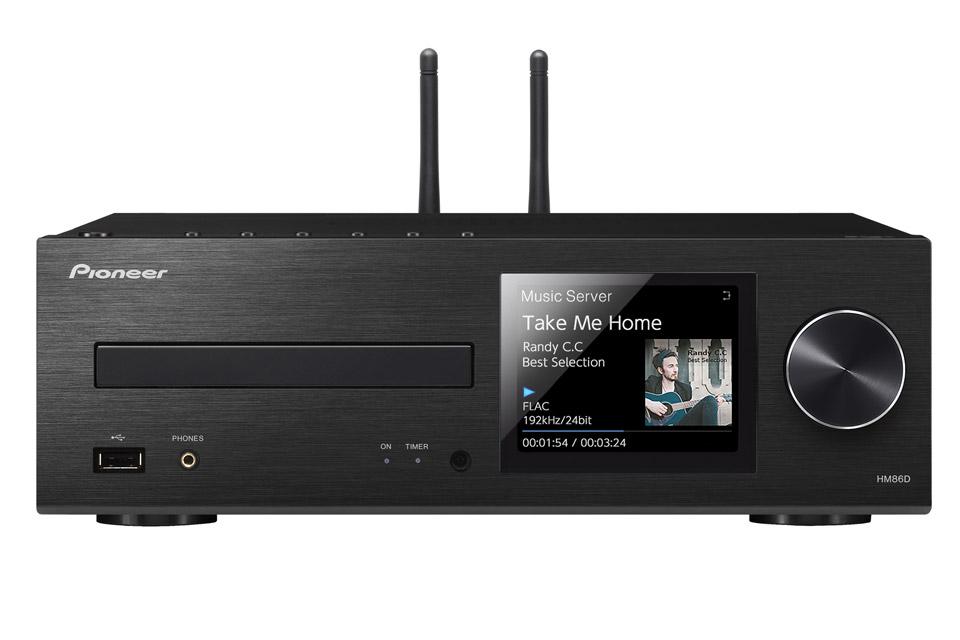 Streaming stereoanlæg fra Pioneer med CD, DAB+ og masser af streaming muligheder.