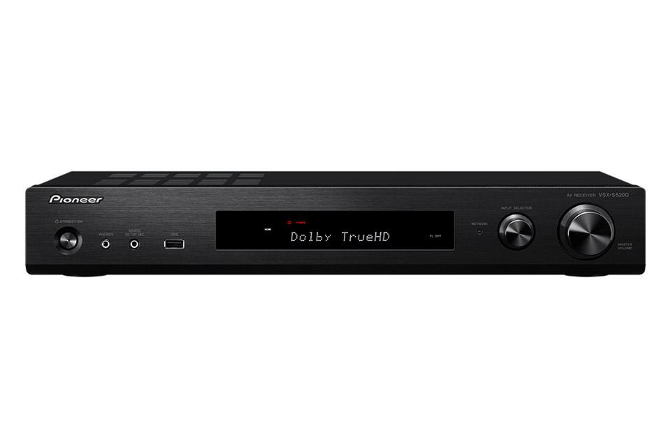 Kvalitets surround receiver i slimline design med 6 kanaler, på niveau med de større modeller, blot slankere og proppet med features!