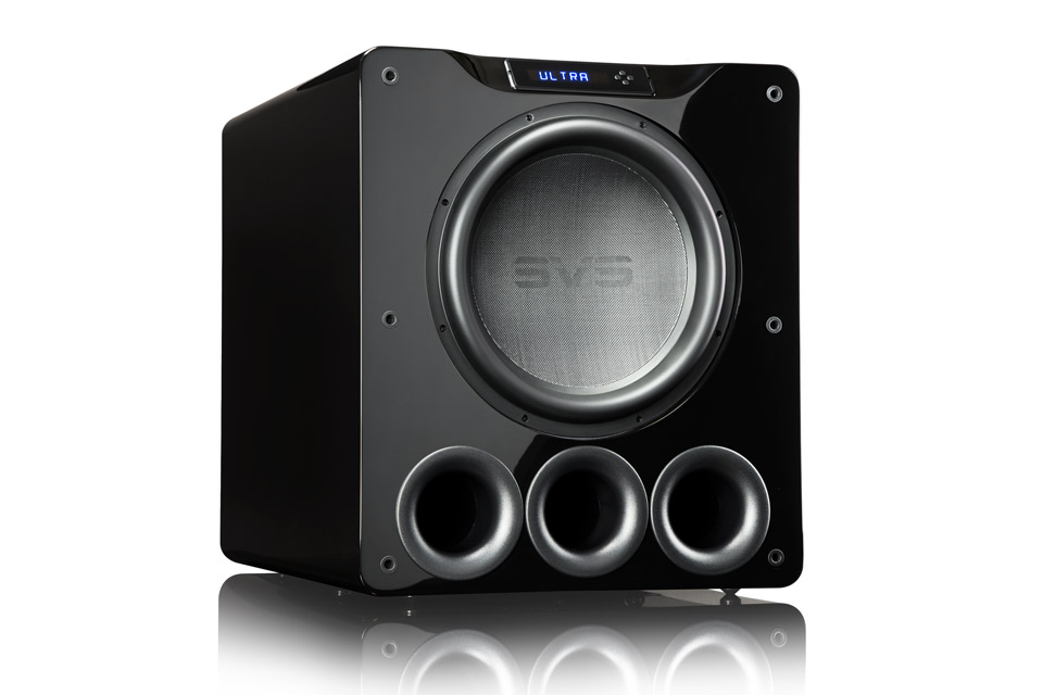 SVS PB16-Ultra, black highgloss