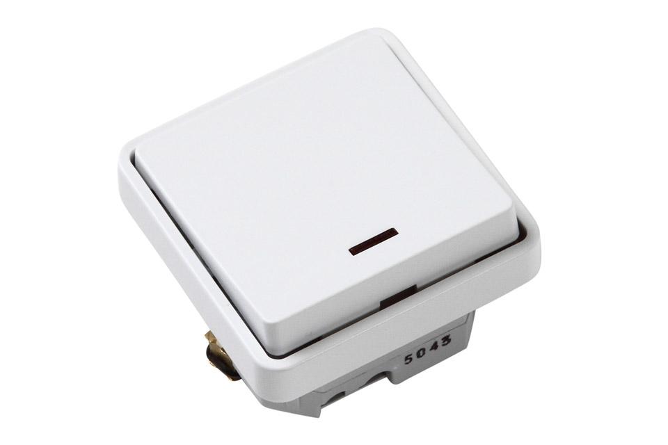 LK FUGA® afbryder med timer anvendes ofte steder hvor man i en kort periode på op til 60 minutter har brug for strøm.