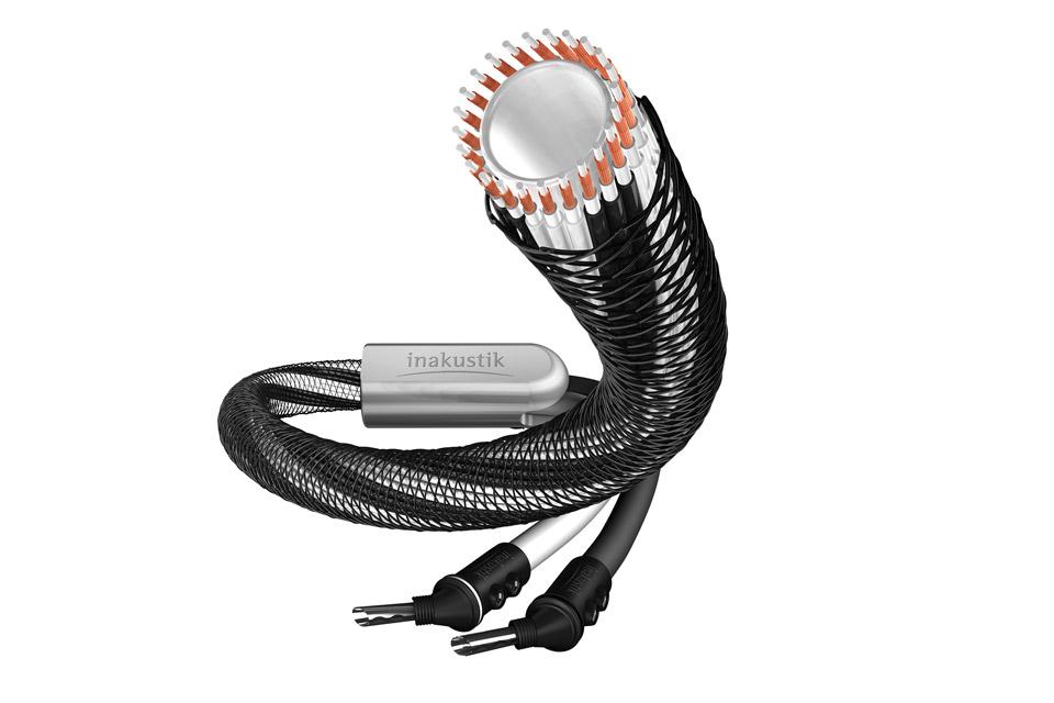 LS-2404 er et reference højttalerkabelsæt på 2x 3 meter fra In-akustik. Leveres i single og bi-wire udgave med 45° banan eller spade terminering.