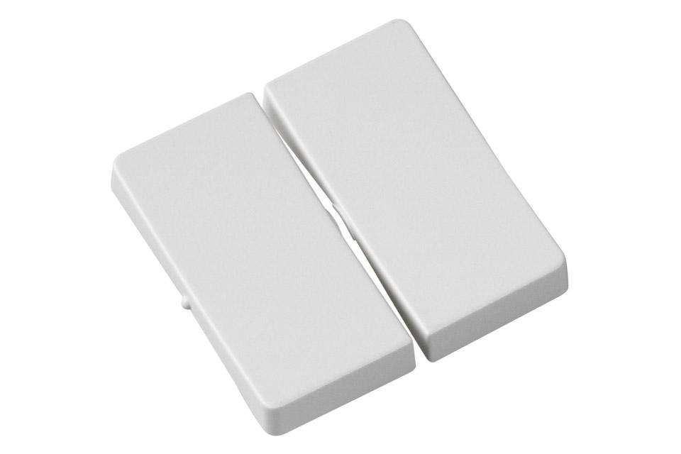LK Fuga tangentsæt for kroneafbryder også kaldet dobbeltafbryder. Et sæt består af 2 stk.