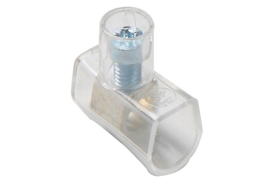 Enkelt samlemuffe, som anvendes overalt i EL-installationer.