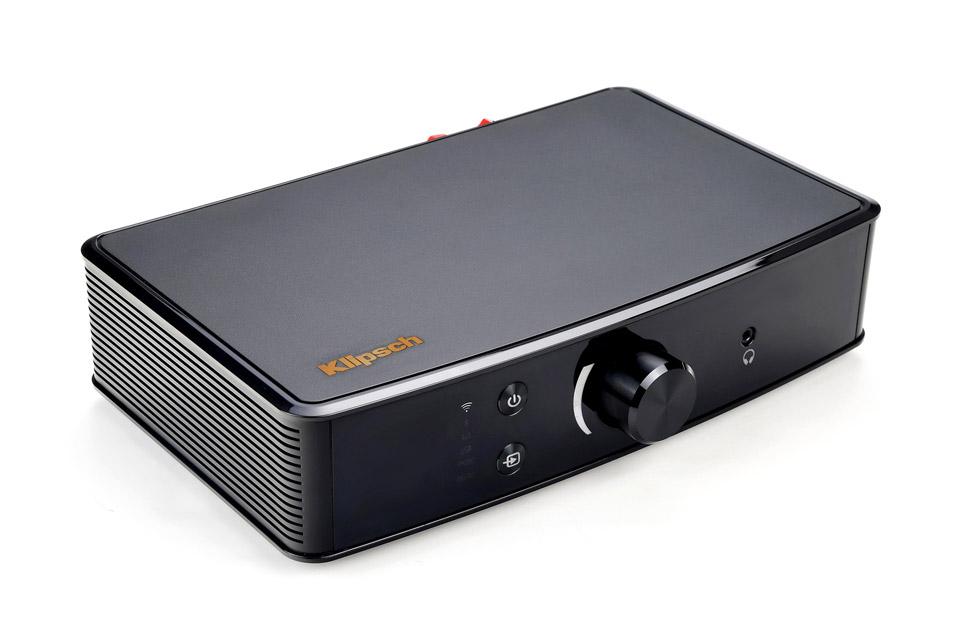 På trods af det kompakte design er Klipsch PowerGate i stand til at levere hele 2x100W.