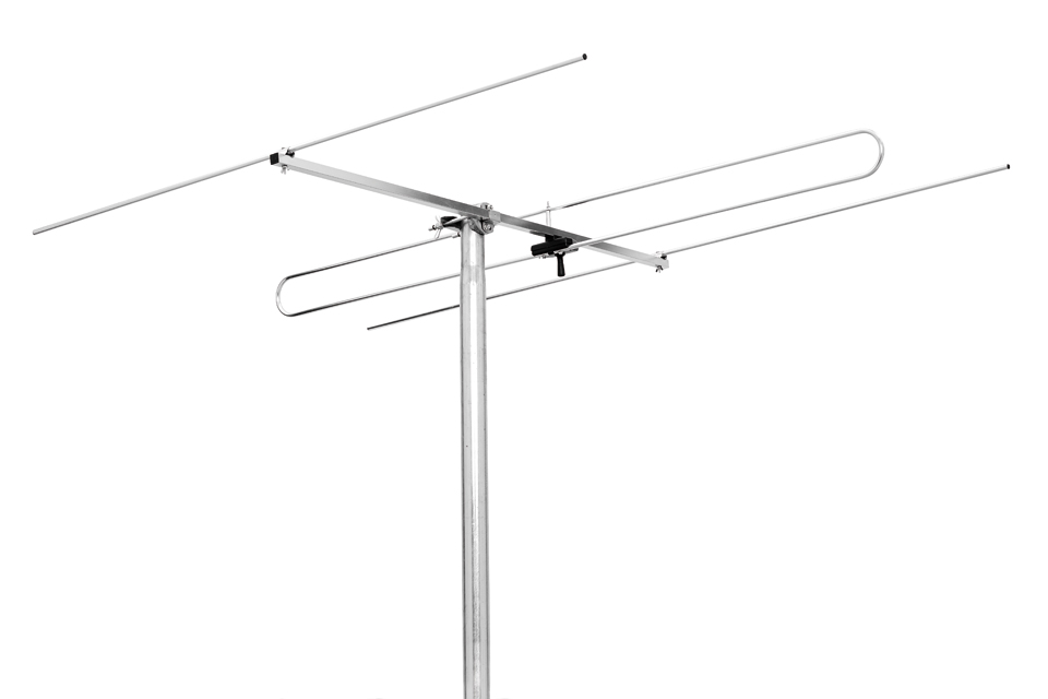 Triax fm 3 outdoor fm antenna with 3 elements for Antenne fm maison